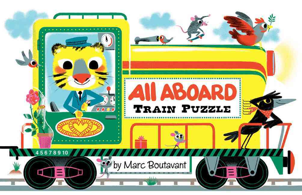 All Aboard Train Puzzle By Boutavant, Marc (ILT)